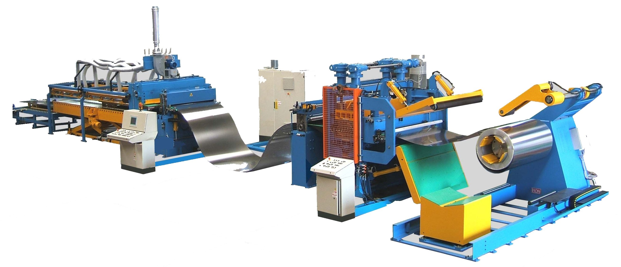 Steel Wheel Cut to Length Line Decoiler Straightener Feeder Cutting Press Blanking Press