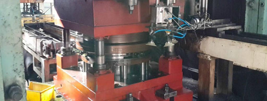 Steel Wheel Disc Rim Assembly Press Assembly Line